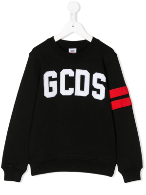 GCDS felpa nera