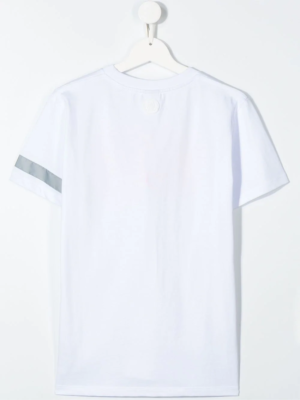 GCDS t-shirt catarinfrangente bianca_2