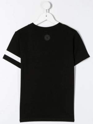 GCDS t-shirt nera fluo_2