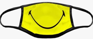 MASCHERINA SMILEY