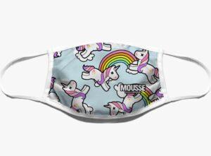 Mascherina bimbi unicorno