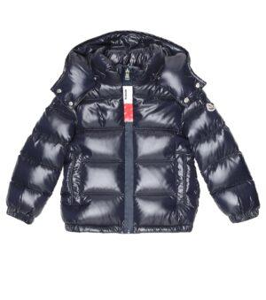 Moncler coat giubbotto FW20 Dumon blu