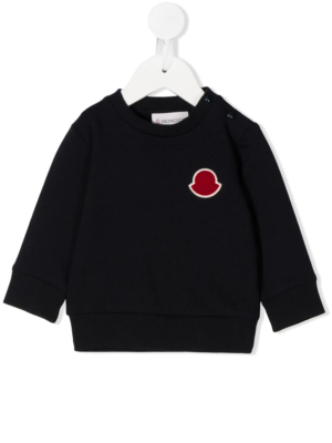 Moncler felpa patch sweater