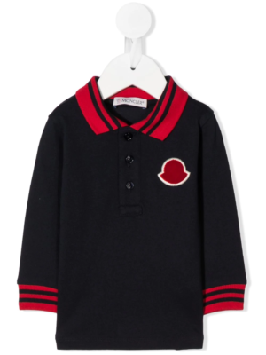 Moncler polo patch
