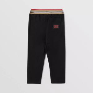 Burberry pantaloni dilan 8030127 nero_2