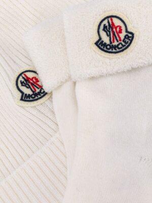 Moncler compl. tricot berretto+calzini F29519N70000 bianco_2