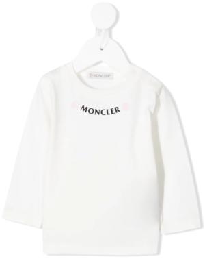 Moncler maglia t-shirt F29518D71110 bianco_1