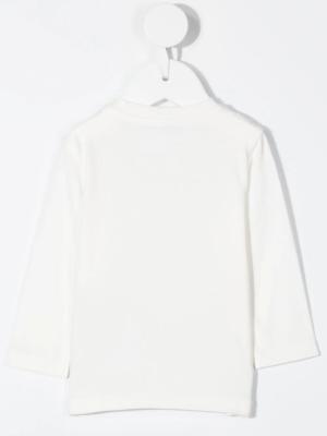 Moncler maglia t-shirt F29518D71110 bianco_2