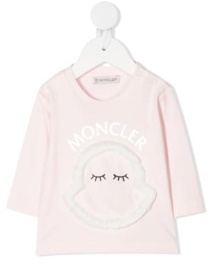 Moncler maglia t-shirt F29518D71210 rosa_1