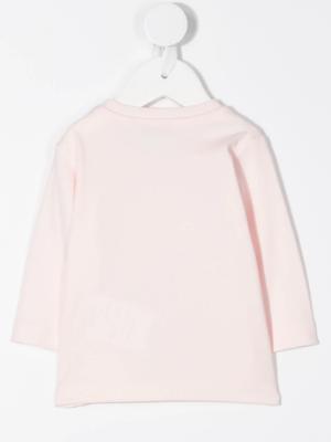 Moncler maglia t-shirt F29518D71210 rosa_2