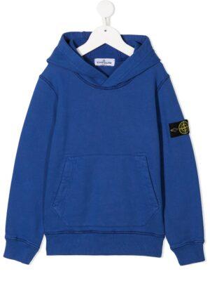 Stone Island felpa con cappuccio sweater hooded 731661640 patch applicazione_pervinca_1