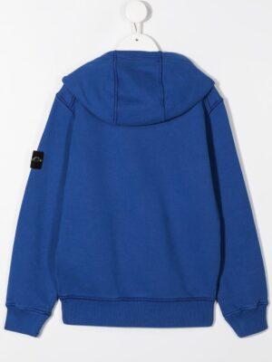 Stone Island felpa con cappuccio sweater hooded 731661640 patch applicazione_pervinca_2