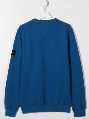 Stone Island felpa sweater 731661340 patch applicazione_pervinca_2