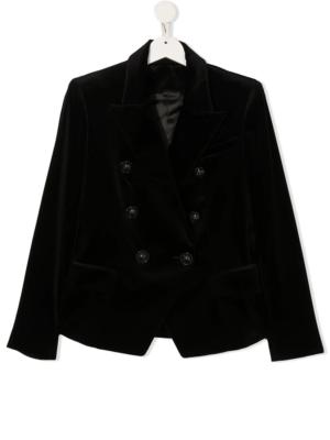 Balmain blazer velluto 6N2124 nero_1