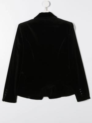 Balmain blazer velluto 6N2124 nero_2