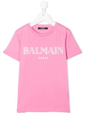 Balmain t-shirt 6N8551 rosa_1