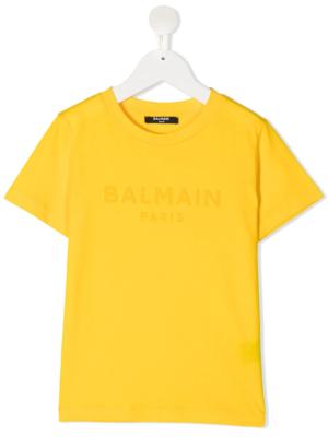 Balmain t-shirt 6N8571 giallo_1