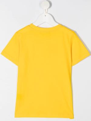 Balmain t-shirt 6N8571 giallo_2