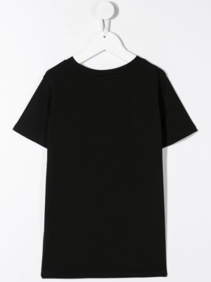 Balmain t-shirt con logo 6N8541 nero_2
