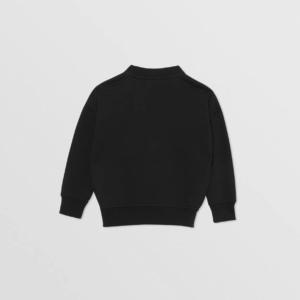 Burberry felpa con logo sweater 80335421 nero_2