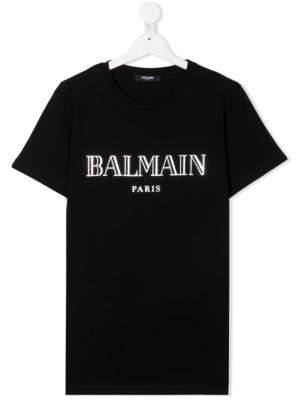 balmain t-shirt 6N8551 nero_1