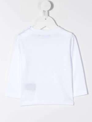 balmain t-shirt 6N8800 bianco_2