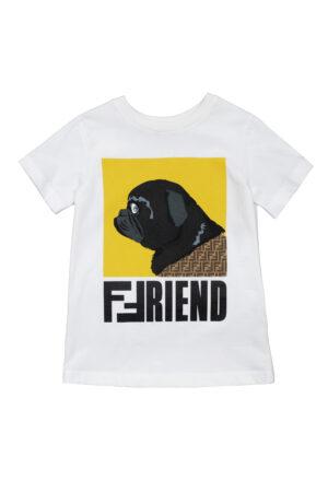 FENDI t-shirt JUI025 bianco_1