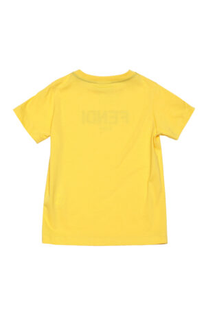 FENDI t-shirt JUI026 giallo_2