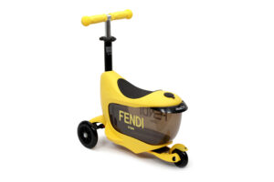 Fendi monopattino Baby Push scooter JUS010 giallo_2