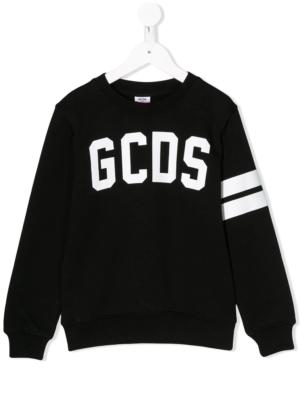 GCDS felpa sweater 022521 nero_1