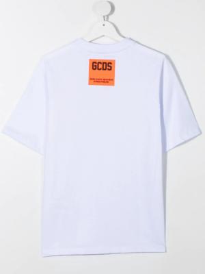 GCDS t-shirt 025873 bianco_2