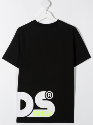 GCDS t-shirt boy 025892 nero_2