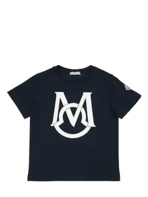 Moncler t-shirt G19548C74220 blu_1