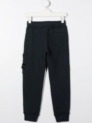 Stone Island pantalone tuta sweat pants 731661540 patch_applicazione_blu_1