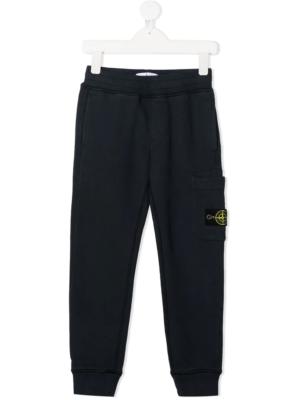 Stone Island pantalone tuta sweat pants 731661540 patch_applicazione_blu_2
