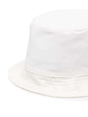 MONCLER G19513B70900 Cappello pescatora bucket hat white bianco _2