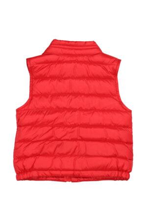 new amaury vest moncler rosso retro