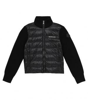 Moncler Cardigan G29549B51020 999 Black