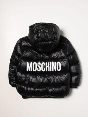MOSCHINO GIUBBOTTO HUS02T L3A32 60100 BLACK 2