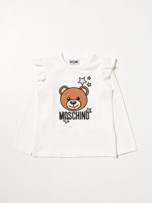 MOSCHINO T SHIRT MDO007 LBA01 10063 OFF WHITE