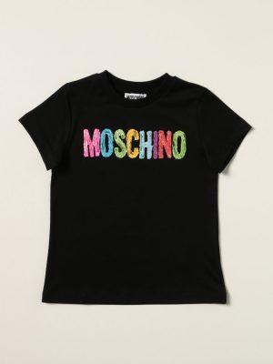 MOSCHINO TEE H9M02S LAA1060100 BLACK