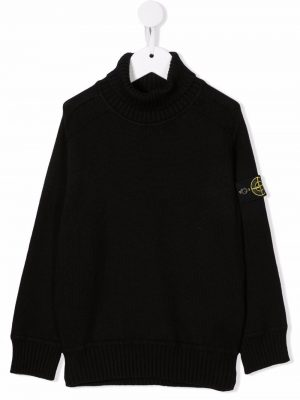 Stone Island Knitted Rollneck MO7516504A2 Black