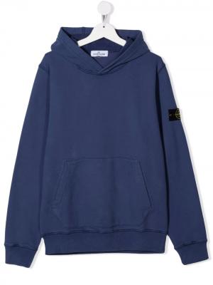 Stone Island Sweatshirt with hood MO751661640 V0020 Blue